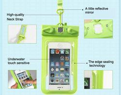 Newest hottest PVC phone waterproof case, mobile phone waterproof bag for smart phone