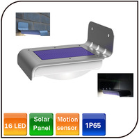 16 LED Power Motion Sensor Security Lamp Outdoor Waterproof led solar garden light