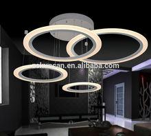 Modern LED chandeliers&pendant lights 4-ring design