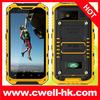 IP67 Grade 4.3 inch IPS screen quad core 1GB RAM rugged waterproof cell phone