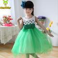 2014 modelo más reciente de bebé niña vestido de fiesta los niños diseños de vestidos de venta al por mayor a granel en