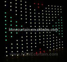 sound control/DMX control/Madrix control led curtain light led ball curtain