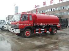 Nice Dongfeng sprayer 10000 Liter water tanker, spraying car for sale