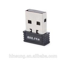 Mini usb wifi adapter 802.11N 150mbps for taplet