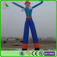 Outdoor advertising inflatables cheap desktop air dancer/mini air dancer popular sale