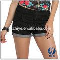 2015 novo modelo de boa qualidade jeans baratos shorts das senhoras