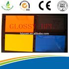 coloure HPL/MELAMINE PLYWOOD/UV MDF