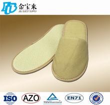 cheap hotel bathroom/ terry cloth spa slippers