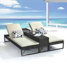 2014 Sun Lounger with Waterproof Cushion