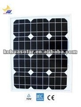 high efficiency mono solar panel 30W with TUV