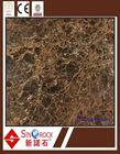 first quality Dark Emperador 12x12 Polished Marble Tile