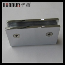 180 degree wall to glass mirror hinge