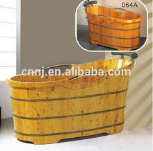 (004A) custom size small wooden bathtub