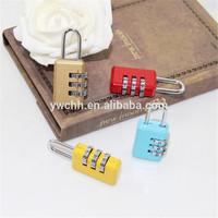 combination digital mini padlock safety color padlock cute padlocks