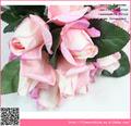 Artificial rosa de látex, de alta calidad real flores artificiales de tacto