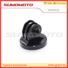 Camera mount adapter monopod tripod camera camcorder billet aluminum black color