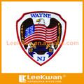 bordado personalizado de águila de la bandera emblema bordado insignias de diseño