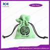 alibaba express china custom velvet jewelry bag