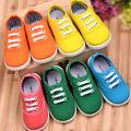 أحذية الأطفال، خاصة ألوان الحلوى حذاء قماش، عارضة أحذية الأطفال حذاء طفل