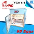 مرت ce التلقائية حاضنة البيض المفرخات 88 الصناعية الصغيرة آلة للبيع