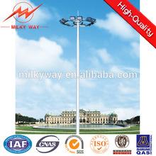 soccer field 30 meter high pole light ,stadium high mast light pole