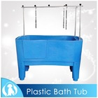 High quality plastic pet grooming baths for dogs/H-111