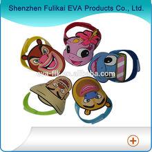 Cartoon Style Silk Print Promotional EVA Foam Cap