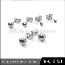 FREE SAMPLING Latest 2015 Fashion Earring, High Polished Stainless Steel Earring, Stud Earrings Jewelry
