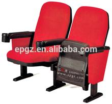 Factory cheap price folding stadium seat soft cushion auditorium seating chair