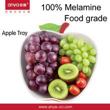 D522 Apple fruit tray melamine tray