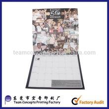 New Design 2015 pendurado calendário 2015 pendurado calendário