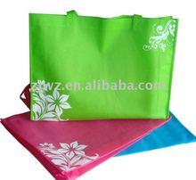 green non woven carry bags