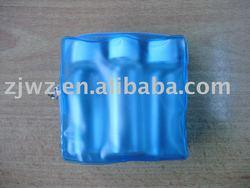 vinyl plastic pvc cosmetics packing bag