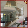 curved glass railing attic stairs glass stairs price