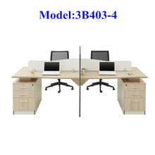 3B403-4 Wooden office furniture office partition made in China