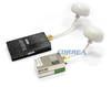 FPV 9CH 5.8GHz 600mW Video Transmitter and Receiver with Clover Leaf Antennas
