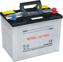 12 VOLTA DRY CHARGED Car Battery 75D31L 12V75AH