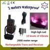 2000 meter range waterproof slave shock collar with vibrate