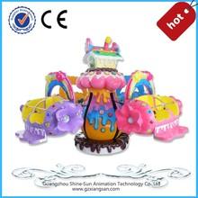 amusement pack rides/ candy house amusement machine for sale