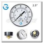 High Quality economic black steel air pressure manometer