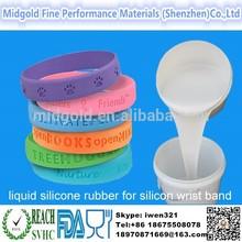 High quality liquid silicone rubber for making bulk cheap wrist band custom silicone wristband