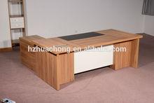 HC-M006 walnut color modern executive wooden office desk