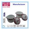 Fashion design soup pot/Enamel carbon steel Cookware Set, wok, casserole and sauce pot