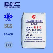 titanium dioxide rutile grade R210 factory / economic tio2 powder