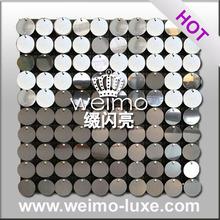 Miroir effet club / salon / boutique / hôtel décoratif rigide en plastique panneaux