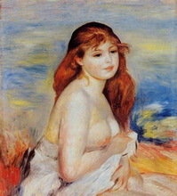 Impression Picture Girls Nude Oil painting
