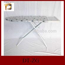 DT-ZG Adjustable Folding Mesh metal plastic ironing board/Foldable Ironing Board