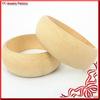 Wholesale Simple Jewelry Unfinished fashion Wooden Bangle