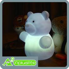 Best Sleep Routine Tool - Giant Bear Animal Shaped LED Table Lamp