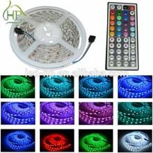 Colorful 12v 300leds/5m party led light rgb 5050smd